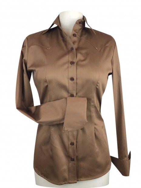 CR Classic Bronze Cotton Sateen