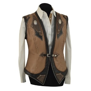 Leather Vest 001 Medium