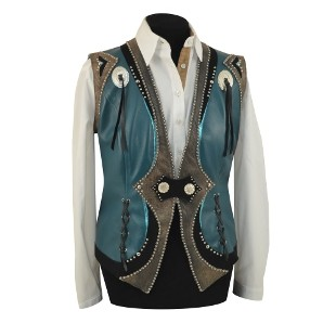 Leather Vest 002 Medium