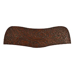Faux Tooled Back Belt