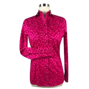 CR Women's Western Pro Hot Pink Tetris