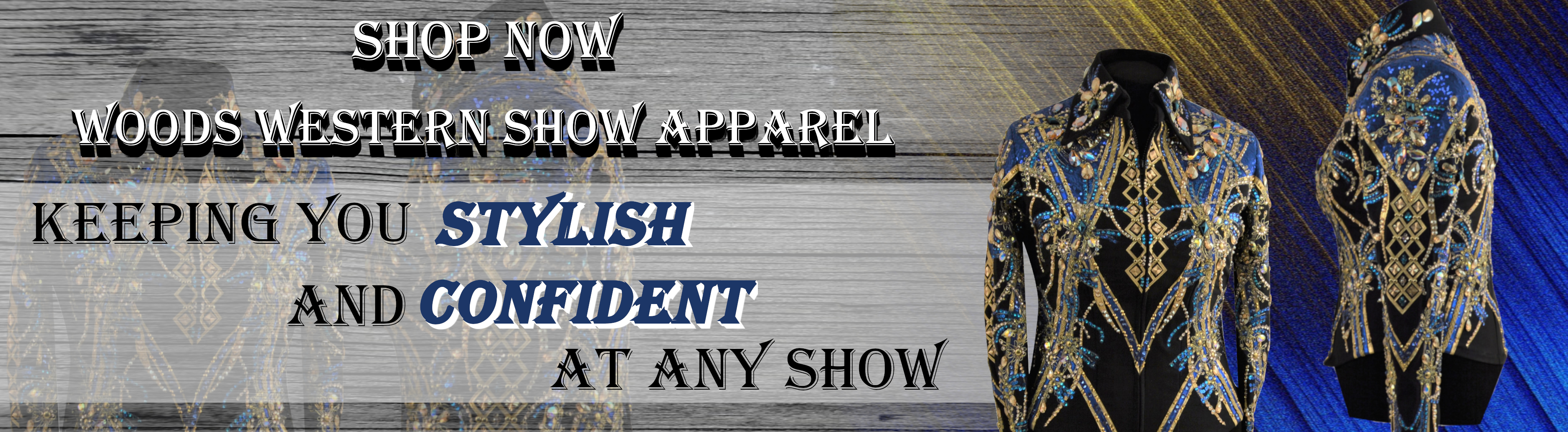 Woods Western Show Apparel