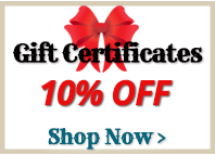 10% Off Gift Certificates