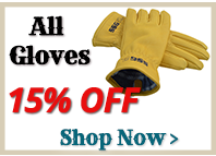 15% Off All Gloves