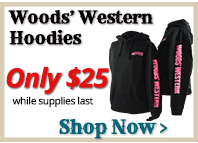 All Woods Western Hoodies only $25