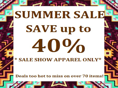 Summer Sale On Show Apparel