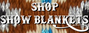 Shop Woods' Western Show Blankets